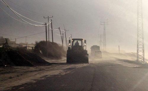 الأمطار غزة