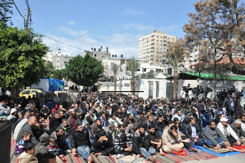 غزة: صلاة التضامن