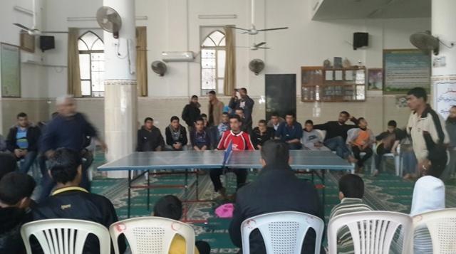 رياضية مسجد البشير تنظم بطولة تنس