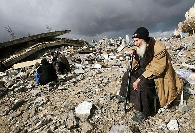 قصف منزل، دمار، تدمير