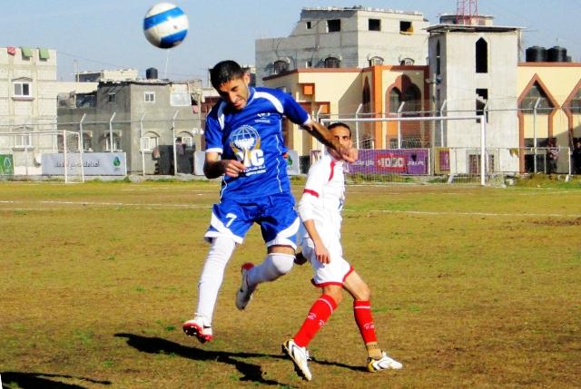 كأس غزة  خدمات دير البلح وخدمات البريج (2)