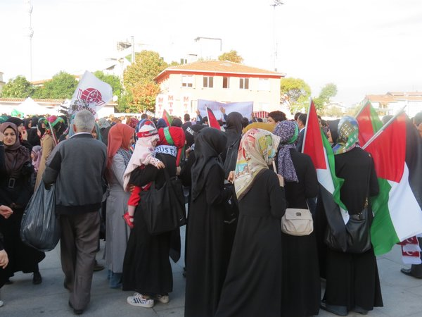 تظاهرات في تركيا