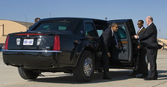 سيارة اوباما