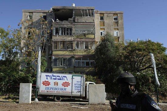هلع خوف هروب قصف في المستوطنات