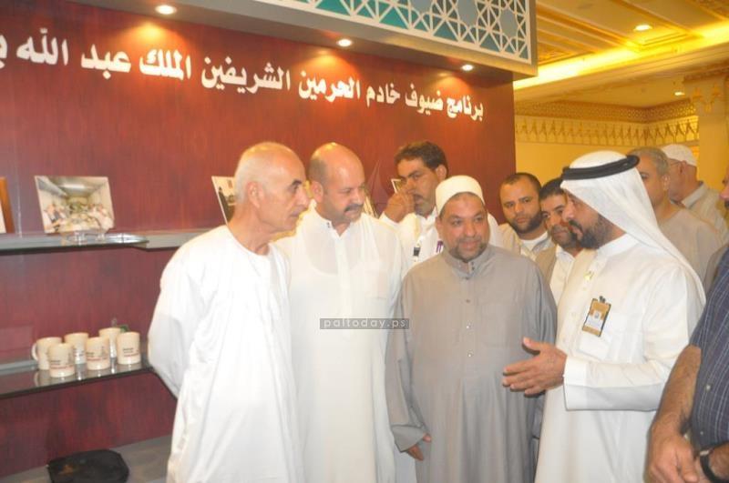 وزير الاوقاف يتفقد حجاج مكرمة خادم الحرمين