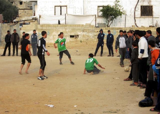 بطولة المرحوم ياسر الجعبري