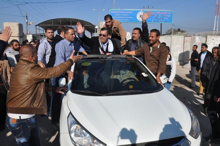 قيادات فتح تصل غزة