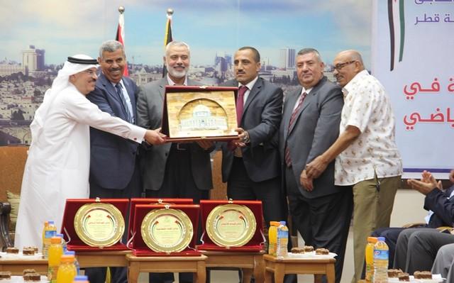 أمواج تكرم أبطال الموسم الرياضي في غزة (11)