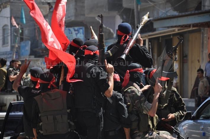 العرض العسكري لكتائب القسام المقاومة 7d0056c11fb698e6445e