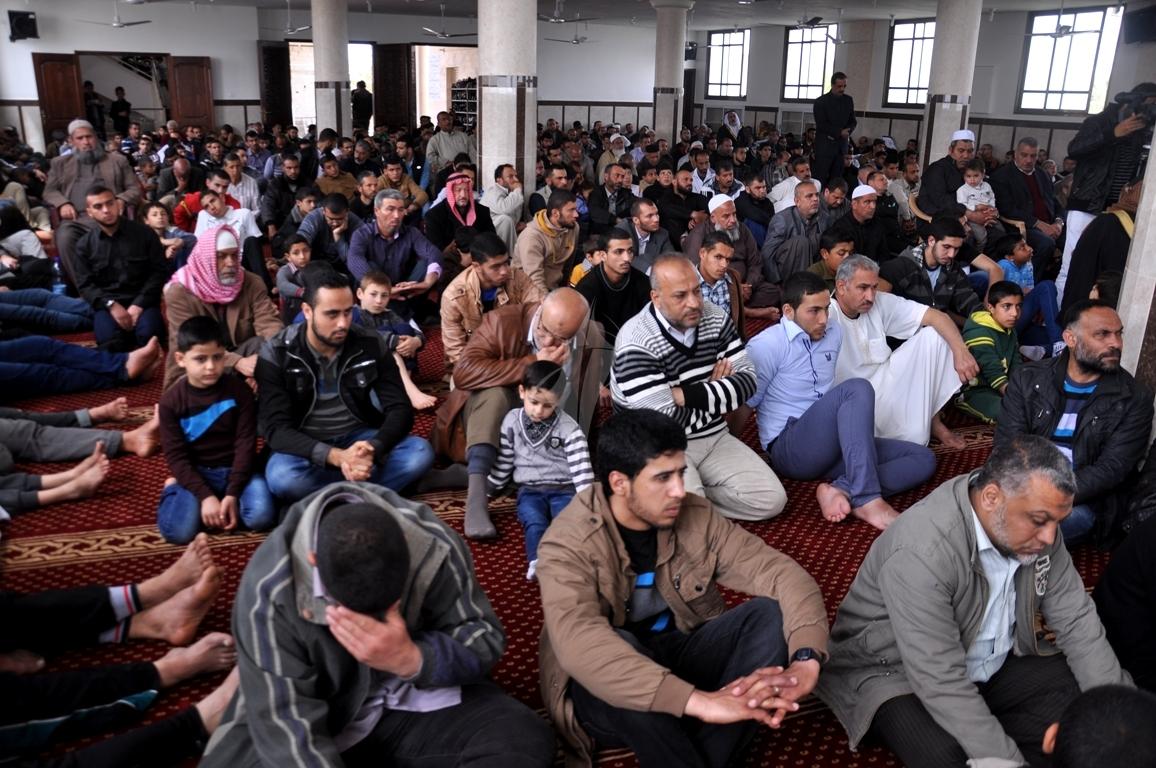 افتتاح مسجد القدس (4635315) 
