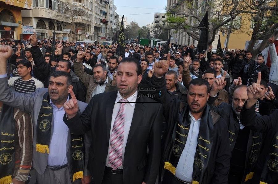 الجهاد الإسلامي تنظم مهرجاناً حاشد إسناداً للأسرى