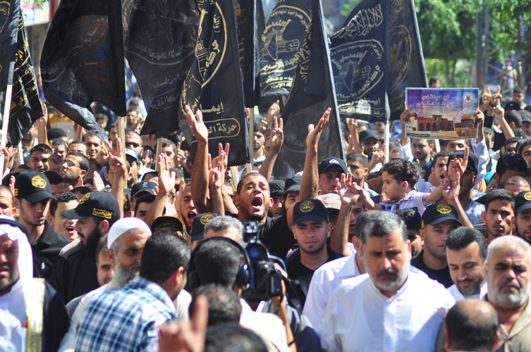 حركة الجهاد الإسلامي تنتفض نصرةً للقدس فى خانيونس