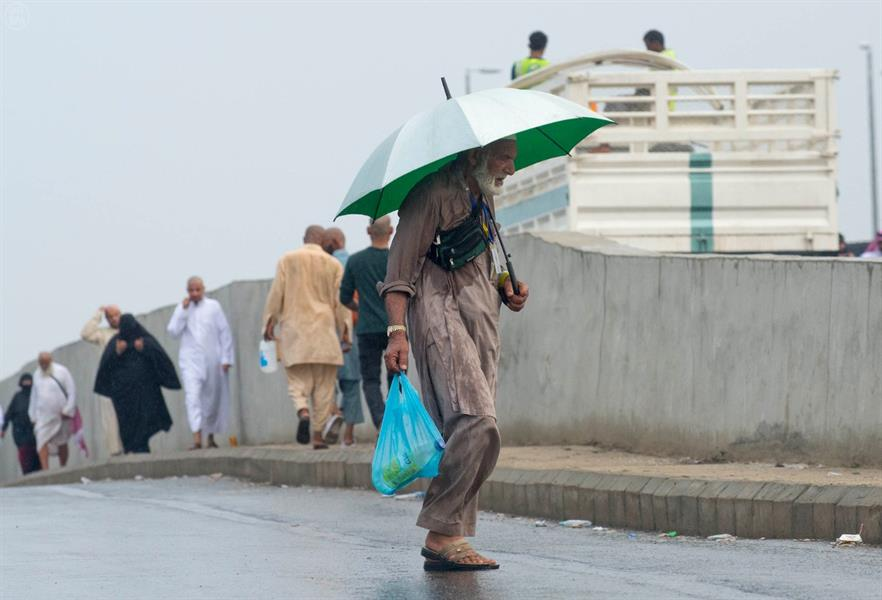 امطار في مكة المكرمة