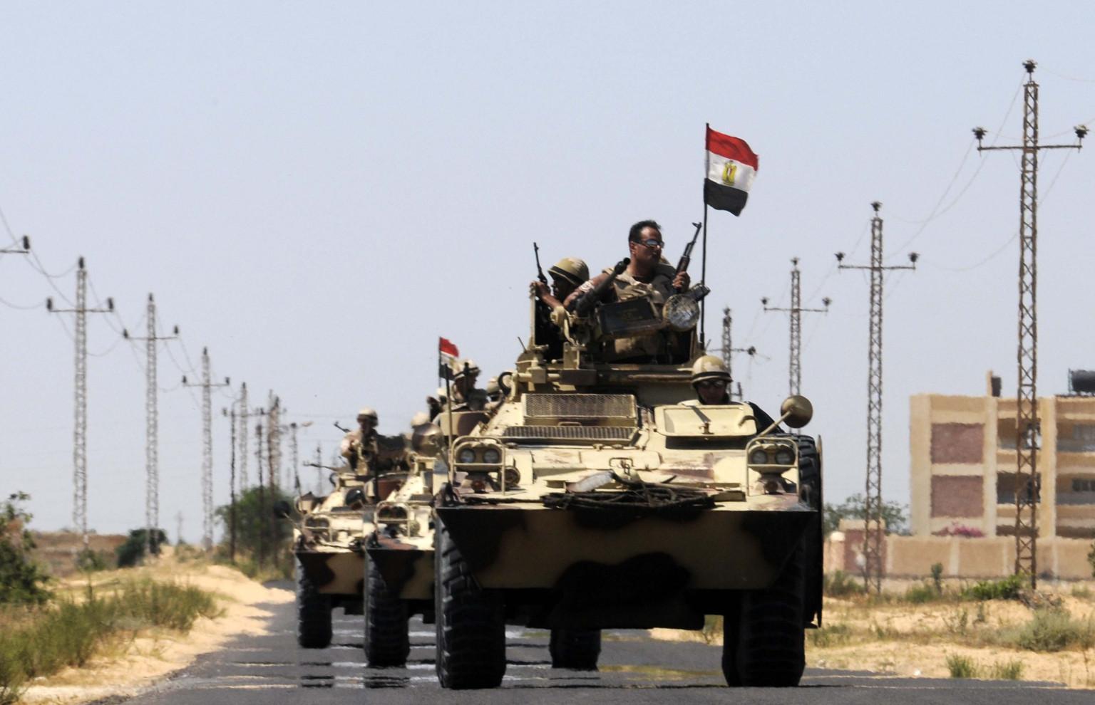 أعلن الجيش المصري ما سماه