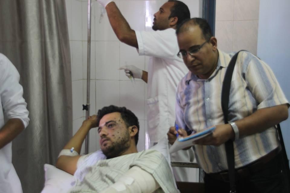 الجرحى في مصر