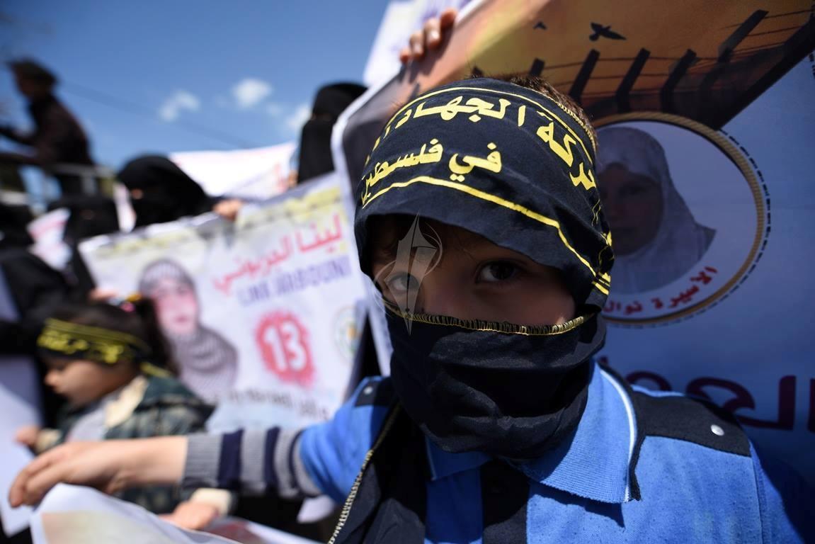 مهجة القدس تنظم وقفة جماهيرية دعماً وإسناداً للأسيرة لينا الجربونى  فى غزة (264638223) 