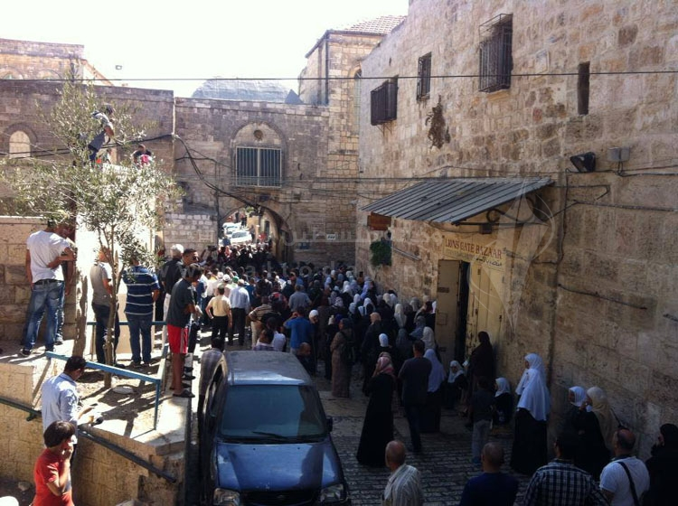 المرابطون يفشلون محاولات الجماعات اليهودية بتدنيس الأقصى ومواجهات مع الاحتلال