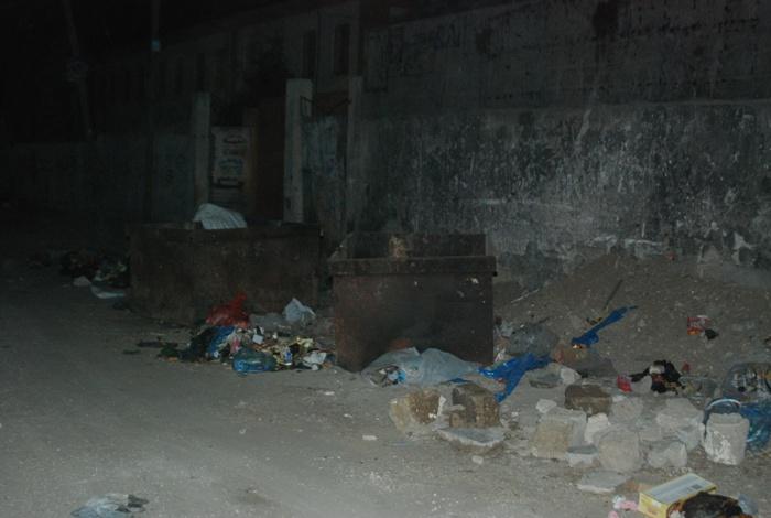 حاويات القمامة