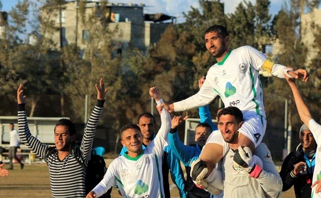 كأس غزة الجمعية الإسلامية واتحاد خانيونس