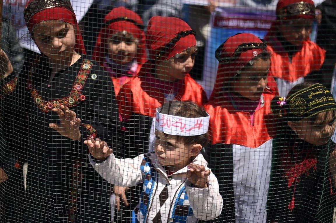 مهجة القدس تنظم وقفة جماهيرية دعماً وإسناداً للأسيرة لينا الجربونى  فى غزة (264638225) 