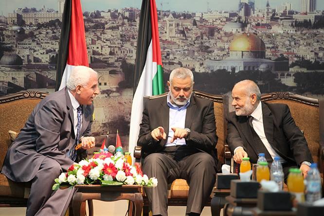 وفود المصالحة من حركتي فتح وحماس تلتقي بحضور الفصائل الفلسطينية في غزة