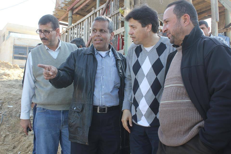 بلدية غزة تنهي تنفيذ مشروع إضافي لتصريف بركة الشيخ رضوان