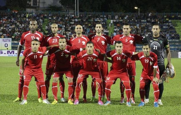 مباراة ودية بين فلسطين والهند
