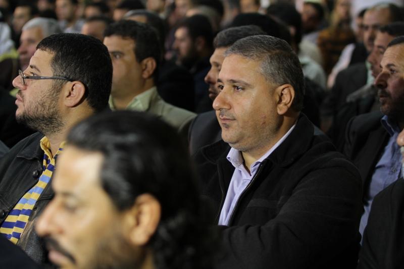 حضور جماهيري كبير لكلمة الامين العام للجهاد في ذكرى انتصار المقاومة