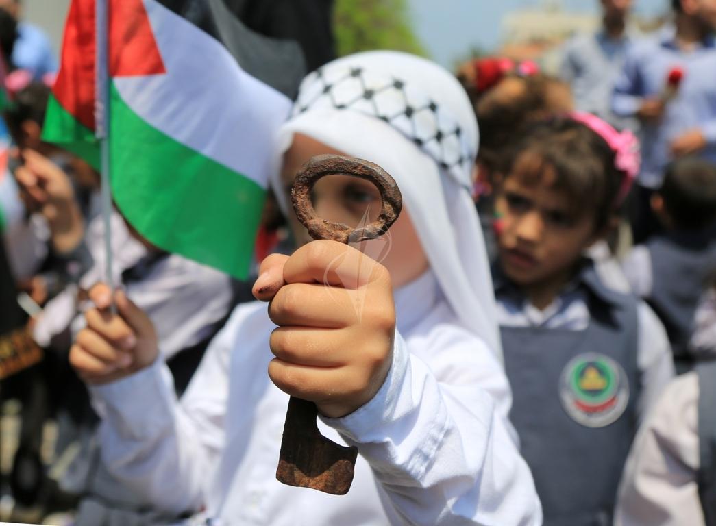 مسيرة للأطفال فى ذكرى النكبة (30111129) 