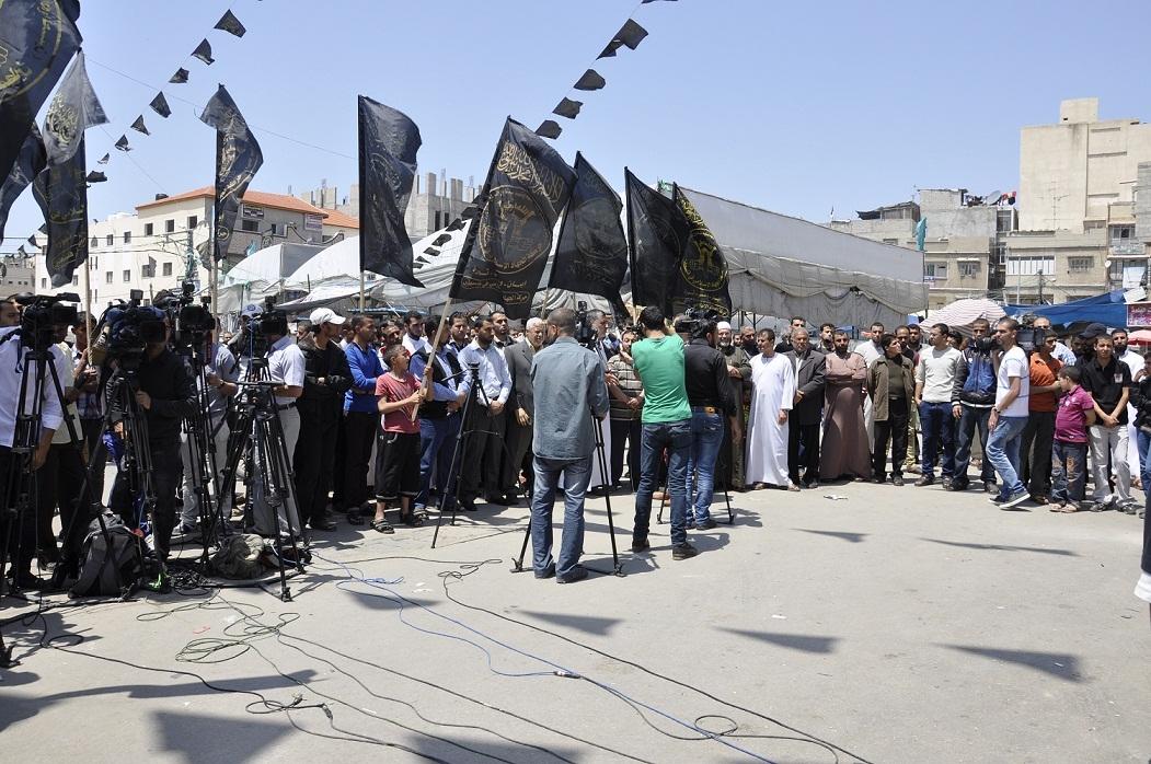 خانيونس : الجهاد الإسلامي تنظم وقفة تضامنية مع الأسرى الإداريين المضربين عن الطعام