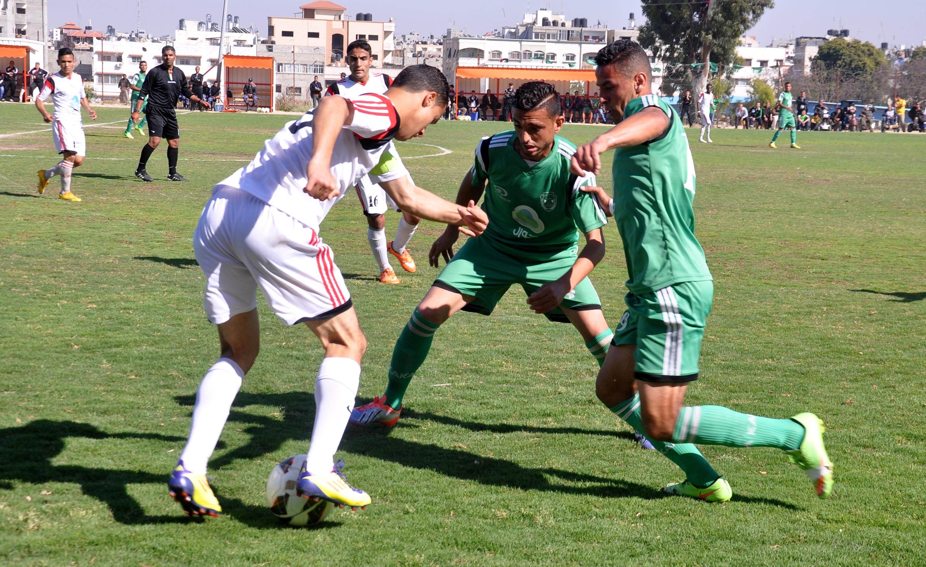 اتحاد الشجاعية وغزة الرياضي (3)