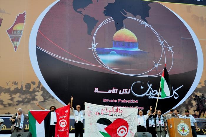 وفد تونسي يشارك الجهاد في انطلاقتها
