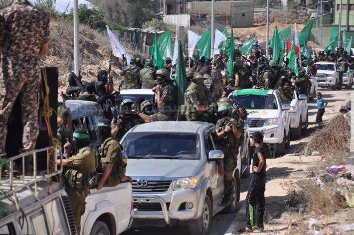 العرض العسكري لكتائب القسام المقاومة ad80a8238a937089985d