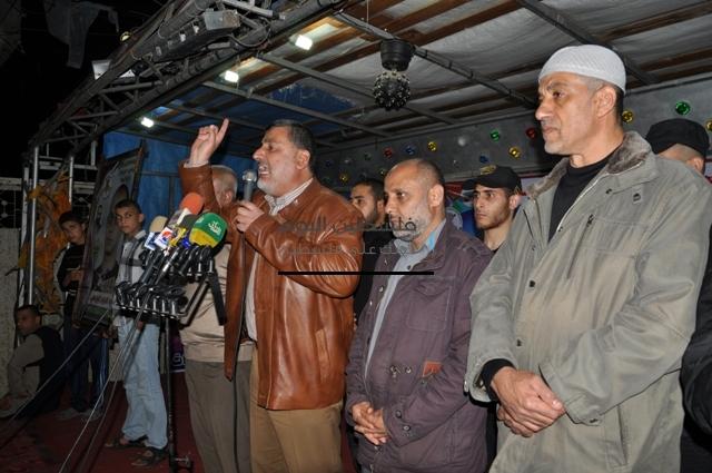 مسيرة لحركة الجهاد الإسلامي ومهجة القدس شمال القطاع بمناسبة يوم الاسير الفلسطيني