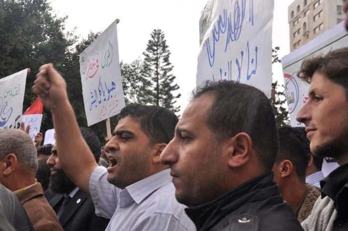 مسيرة لفصائل المقاومة ضد برافر