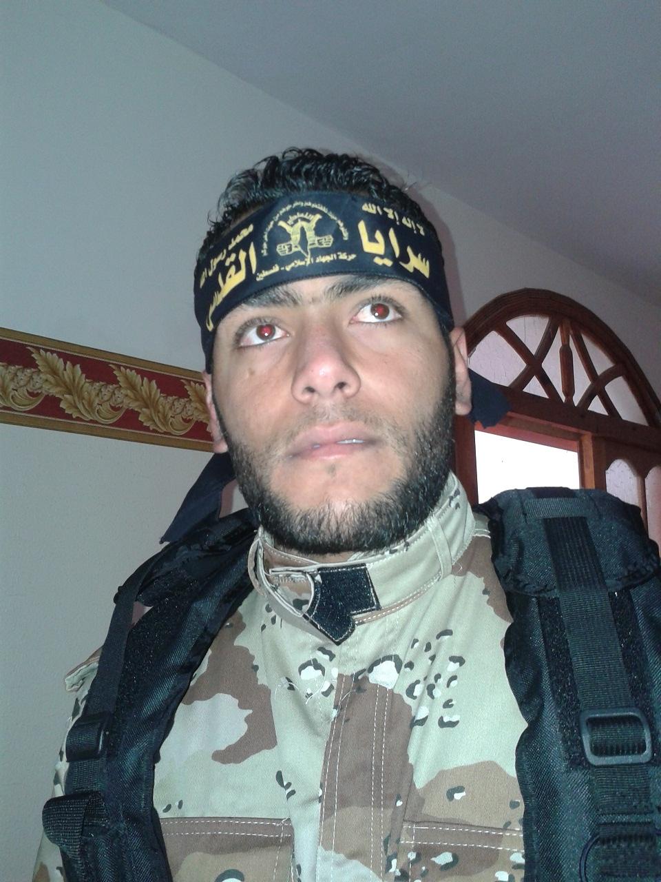 الشهيد المجاهد إياد أبو ريدة