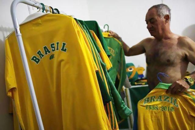 مشجع برازيلي