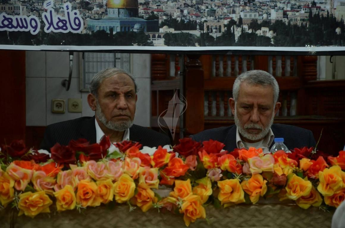 لقاء سياسي بين حركتي حماس والجهاد الإسلامي بغزة حول أخر المستجدات على الساحة الفلسطينية (78598332) 