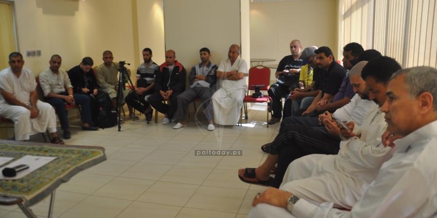 وزير الاوقاف يلتقي بأعضاء البعثة الإعلامية في مكة المكرمة