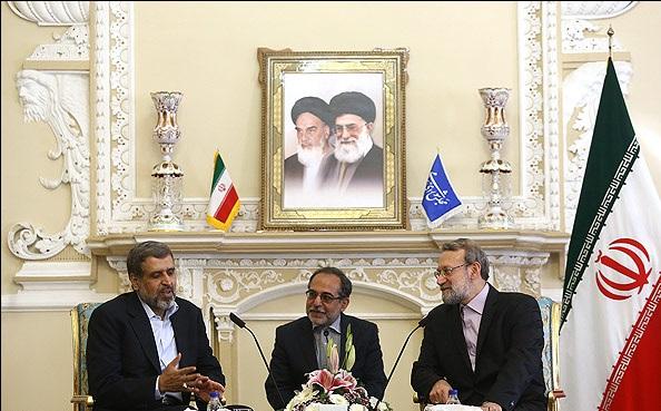 شلح وقيادات إيرانية