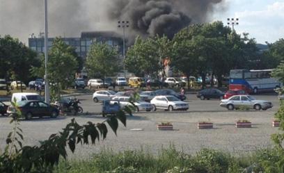 انفجار حافلة