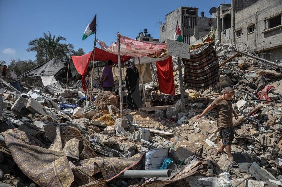 منازل مدمرة 2014
