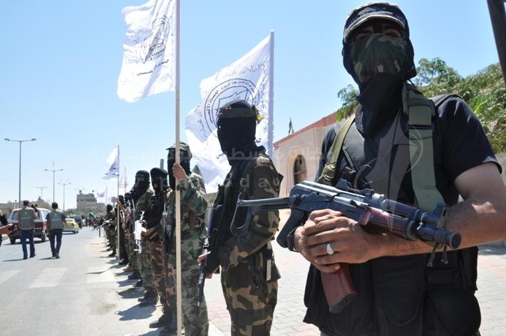 العرض العسكري لكتائب القسام المقاومة c9ba09b13abdad46db02