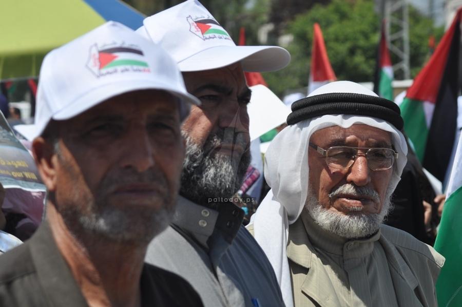 بالصور:بمشاركة جميع الفصائل الفلسطينية أحياء فعالية ذكرى النكبة لـ66