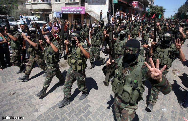 العرض العسكري لكتائب القسام المقاومة d4f80ac0a8944f465be8