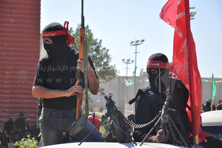 العرض العسكري لكتائب القسام المقاومة d5b334a3dba8252651fb