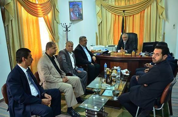 وزير العدل سليم السقا و عطا الله أبو السبح