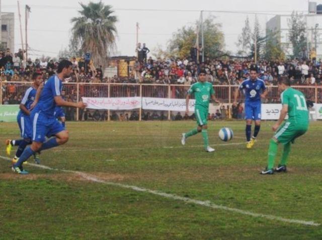 كأس غزة شباب رفح وخدمات رفح