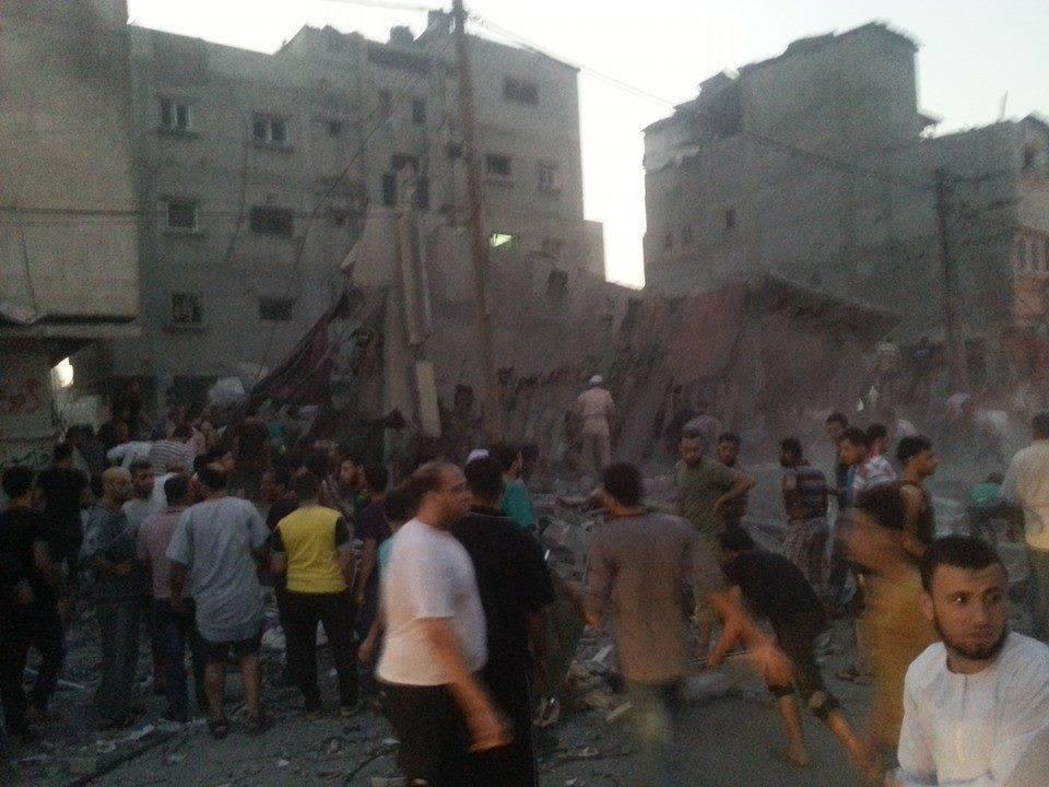 قصف منزل غنام