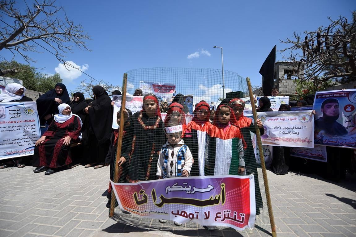 مهجة القدس تنظم وقفة جماهيرية دعماً وإسناداً للأسيرة لينا الجربونى  فى غزة (264638222) 